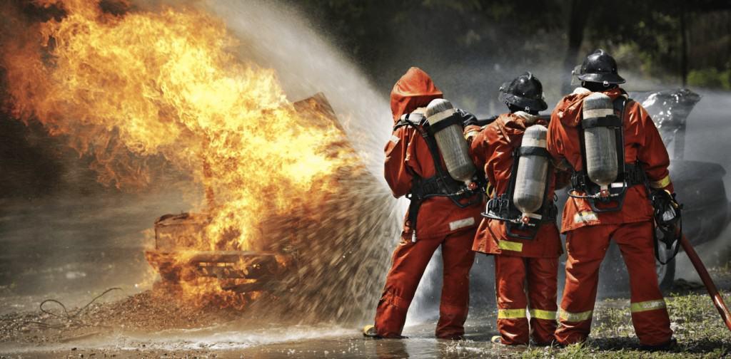 Školenie hasičských jednotiek