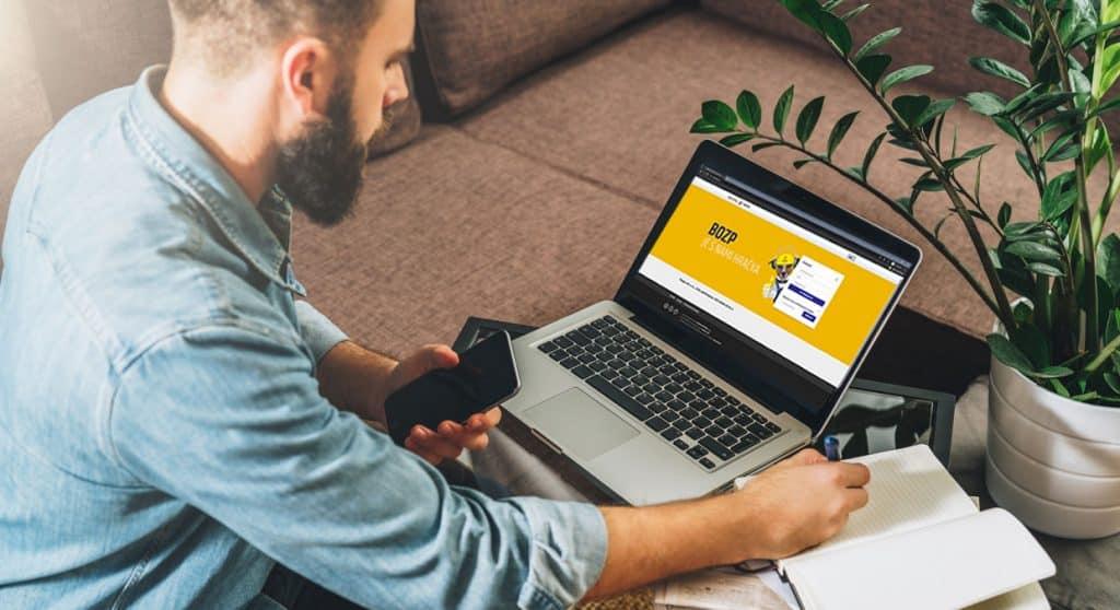 online bozp školenie - e-learning