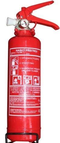 hasiaci prístroj práškový 1kg