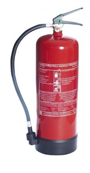 hasiaci prístroj vodný